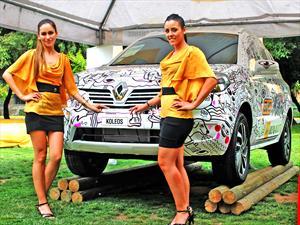 Un Renault Koleos convertido en obra de arte