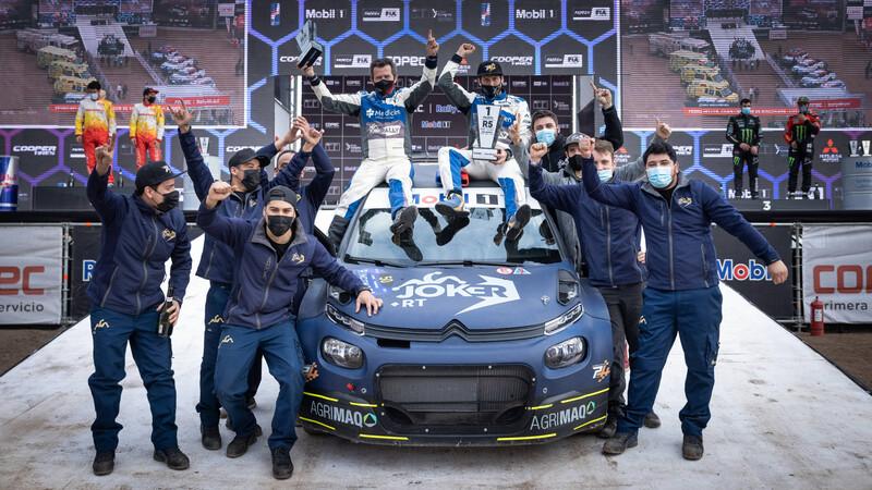 RallyMobil 2021: Heller y Citroën ganan en el debut del campeonato
