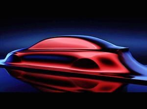 El Mercedes-Benz Clase A Sedán se muestra en Shángai