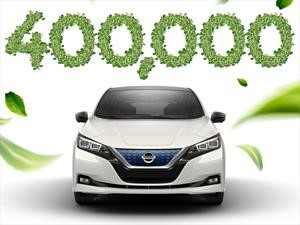 Nissan LEAF vende más de 400,000 unidades en todo el mundo