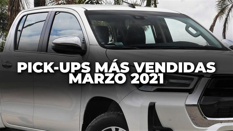 Pick-ups más vendidas en Colombia en marzo de 2021