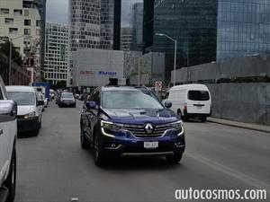 Renault Koleos 2017 espiada en México