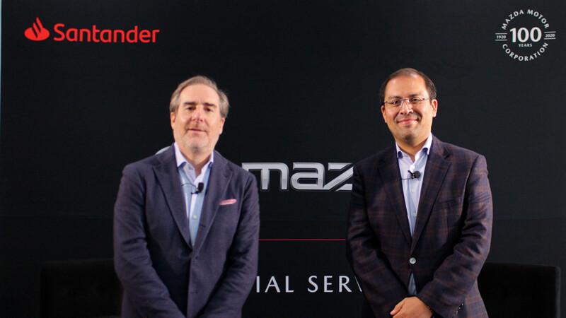 Mazda y Santander anuncian alianza, ofrecerán tasa del 6.75% y aprobación por medios digitales