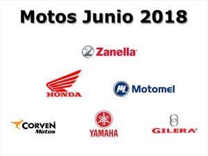Top 10: Las marcas de motos que más vendieron en junio de 2018