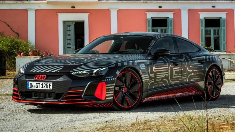 Audi RS e-tron GT, primer eléctrico de altas prestaciones de la historia