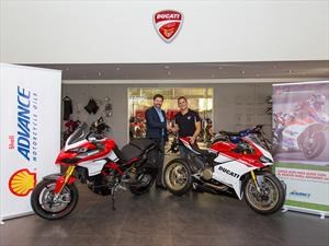 Shell Advance Ultra es el aceite que usa Ducati