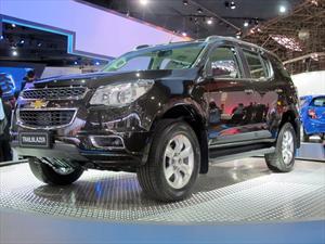 Chevrolet Trailblazer se presenta en el Salón de San Pablo 2012