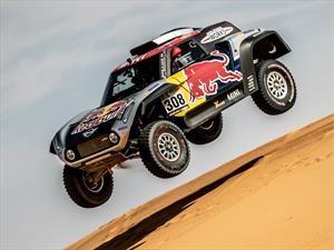 Como se fabricó el buggy MINI de Carlos Sainz para el Dakar 2019