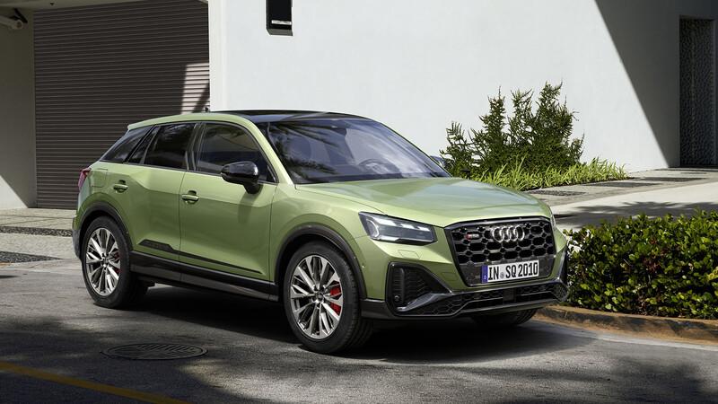 Audi SQ2 2021: Casi un hermano del renovado Q2