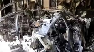 Misteriosa explosión de un Porsche Taycan