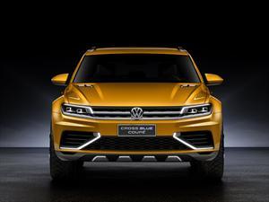 Volkswagen CrossBlue Coupé Concept se presenta