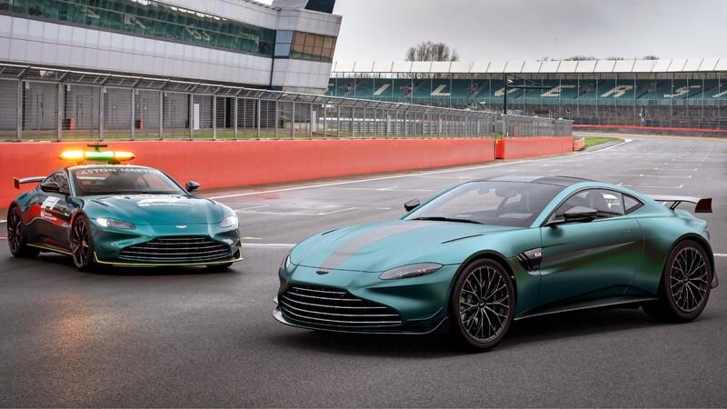 Aston Martin Vantage F1 Edition: una versión del Safety Car de la Formula 1 está a la venta