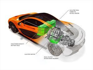 El McLaren P1 tendrá un motor híbrido de 903 CV