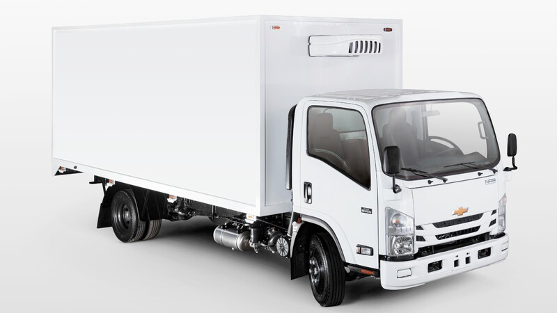 Presentan en Colombia nuevo camión Chevrolet NRR