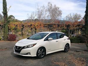 Nissan LEAF 2018, primer contacto en EU