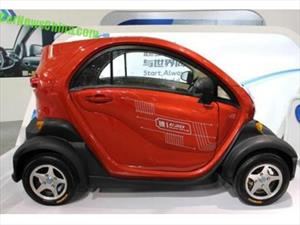 En China presentan una copia descarada del Renault Twizy