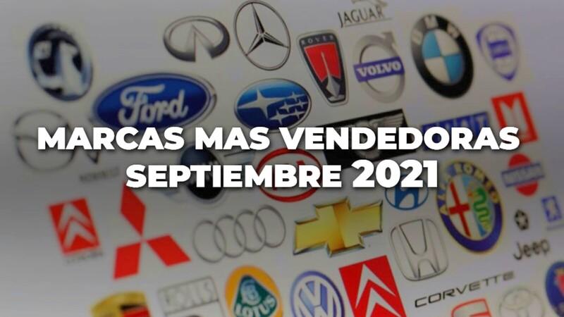 Marcas más vendidas en Colombia en septiembre de 2021