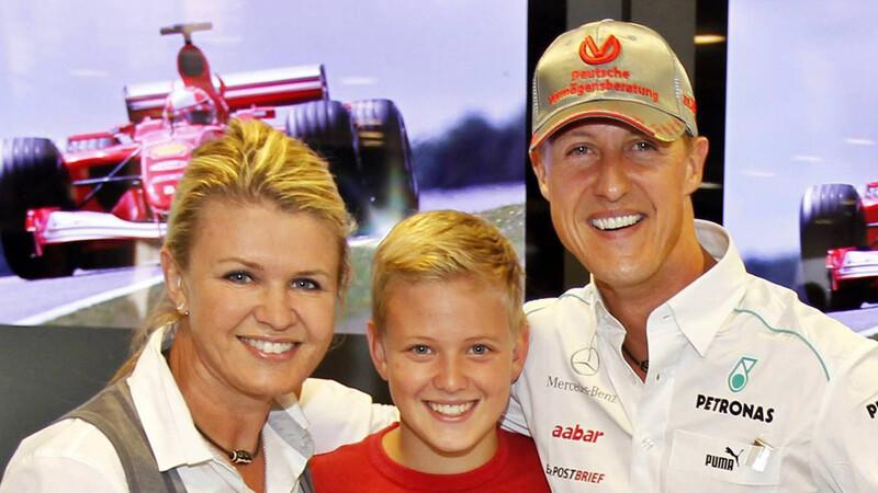Mick Schumacher habla sobre su padre