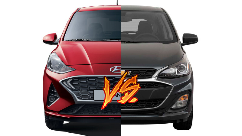 Chevrolet Spark vs Hyundai Grand i10, ¿cuál es el mejor?