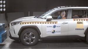 La nueva Toyota RAV4 saca cinco estrellas en las pruebas de LatinNCAP