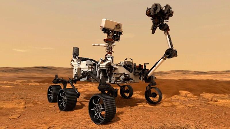 Así es el explorador que envió la NASA a Marte