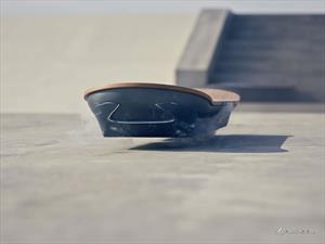 Lexus desarrolla la patineta voladora de Volver al Futuro