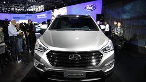 Hyundai Santa Fe recibe máxima calificación por la EuroNCap y el premio IIHS Top Safety Pick 2012