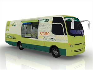 Súbase al Bus de Ecopetrol en Bogotá