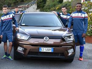 Ssangyong Motors, patrocinador oficial del UC Sampdoria