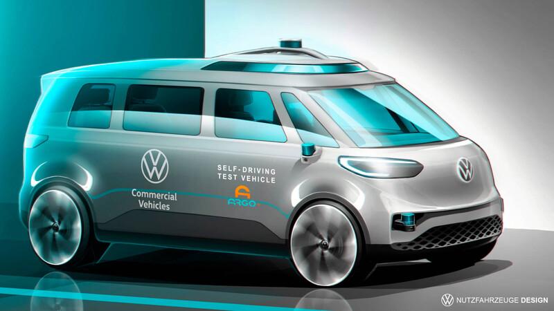 Los furgones de Volkswagen serán autónomos