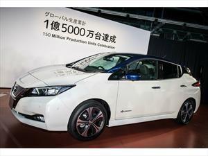 Nissan alcanza 150 millones de vehículos producidos en todo el mundo