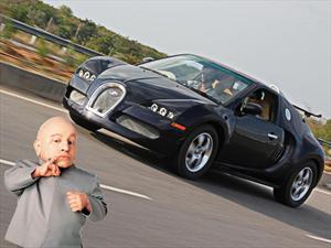 Una mini réplica de Bugatti Veyron