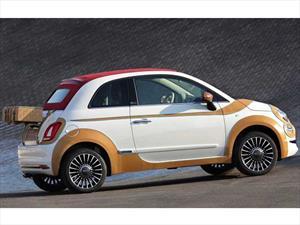 FIAT 500 con aplicaciones en cuero para caridad