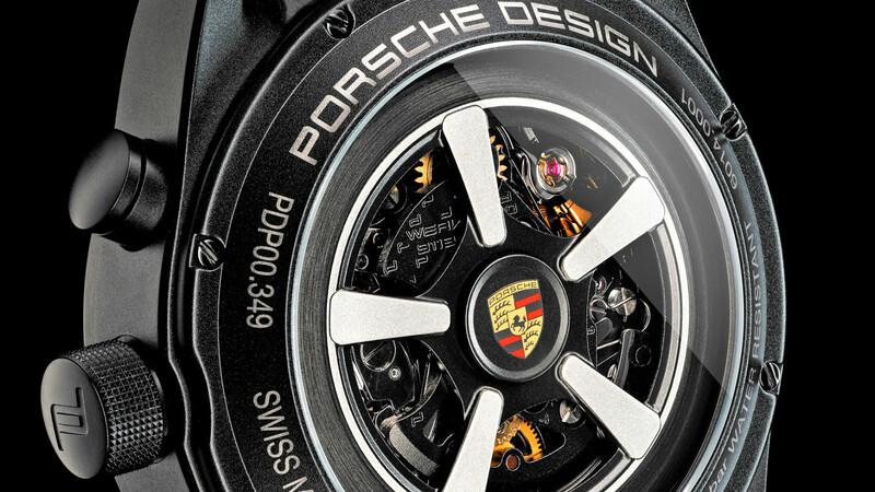 Personaliza tu reloj para que luzca igual que tu Porsche