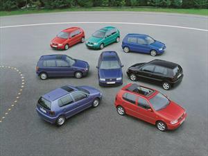 Las seis generaciones del Volkswagen Polo