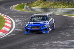 Lo que le faltaba: Subaru logró un récord en Nürburgring