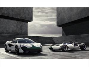 McLaren 570S Coupe M2B Edition celebra el debut de la marca en F1