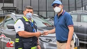 Nissan destina vehículos para luchar contra el covid-19 en Colombia
