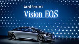 Mercedes-Benz Vision EQS Concept, el futuro Clase S eléctrico