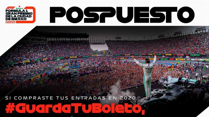 Es oficial, el Gran Premio de la Ciudad de México de F1 2020 queda cancelado