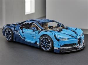 Bugatti Chiron por Lego...¡con un W12 que se mueve!