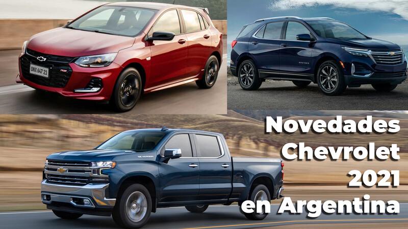 Las novedades de Chevrolet en Argentina para 2021