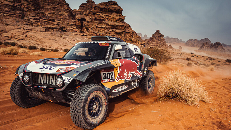 Dakar 2021: MINI sigue dominando