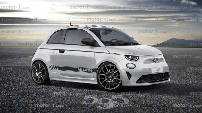 FIAT 500 Abarth eléctrico: ¿Será así?