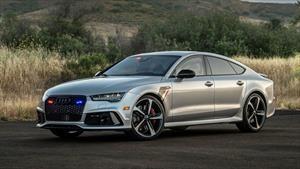 Este Audi RS7 es el auto blindado más rápido del mundo