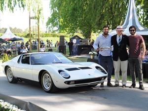 Autoclásica 2017: Un Lamborghini Miura se coronó como el mejor deportivo