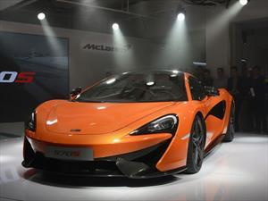 McLaren 570S llega para medir fuerzas con el Audi R8 y Porsche 911