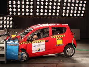 Chevrolet Spark Classic obtiene cero estrellas en prueba de choque de Latin NCAP