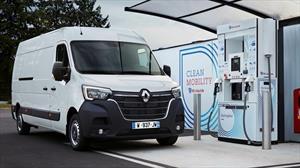 Renault aumenta la autonomía de sus furgones comerciales eléctricos con hidrógeno