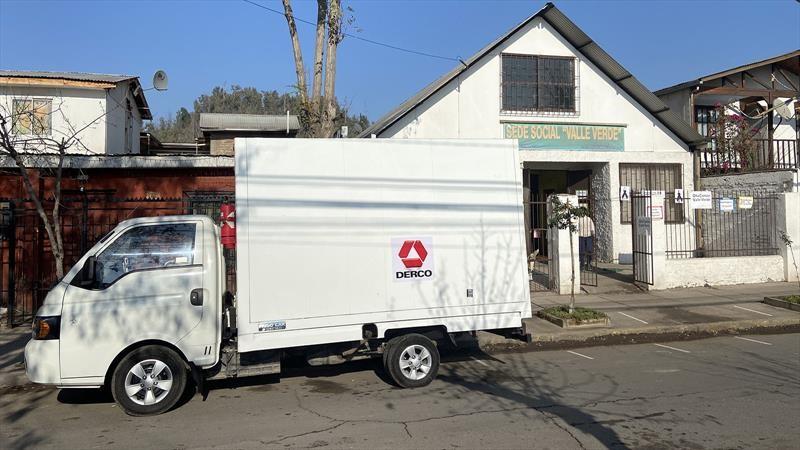 """Derco apoya """"La Ruta Solidaria"""" con traslado de alimentos a comedores comunitarios"""